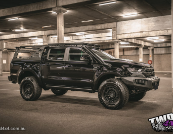 black ford ranger px 3 option 4wd vikor industries build twd 4x4 16